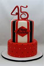 45 Year Old Birthday Cake