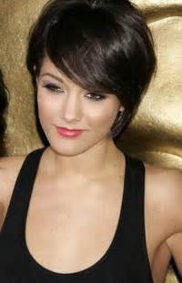 dark short pixie hairstyles for women haircuts round