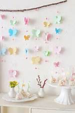 DIY Butterfly Baby Shower Decorations