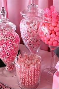 Quinceanera Candy Table Pink
