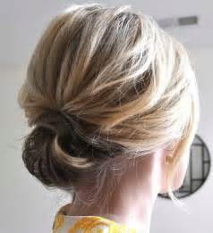updos for short hair easy chic