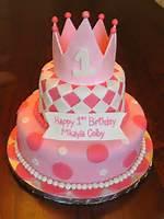 Girls Fondant Birthday Cakes