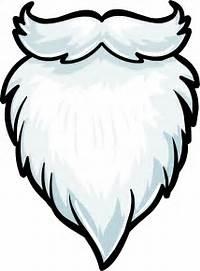 Santa Beard Clip Art