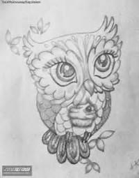 Dibujos Para Tattoos De Buhos