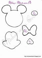 Moldes De Minnie Mouse