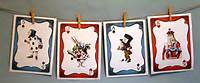 Alice In Wonderland Card Decorations
