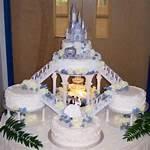 Cinderella Castle Wedding Cake
