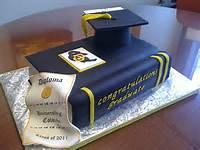 College Graduation Cake