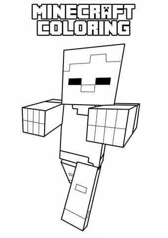 free printable minecraft coloring pages | Only Coloring Pages