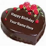Happy Birthday Cake With Name