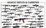 Military Assault Rifles Names