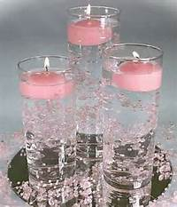 Floating Candle Wedding Table Centerpieces