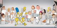 American Dad Simpsons Vs Family Guy