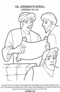 jeremiah Colouring Pages