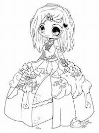 Cute Anime Chibi Coloring Pages