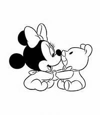 Disney Baby Minnie Mouse Coloring Pages