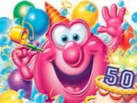 Animated Happy 50th Birthday