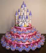 Disney Princess Birthday Party Cake