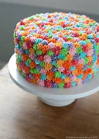 Simple Birthday Cake Decorating Ideas