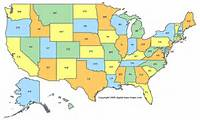 50 United States Map