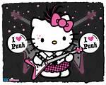 Punk Hello Kitty