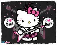 Hello Kitty As A Punk