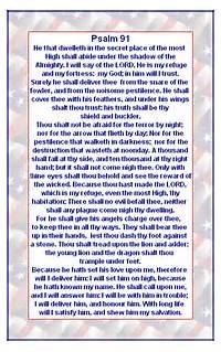 Psalm 91 Print Version