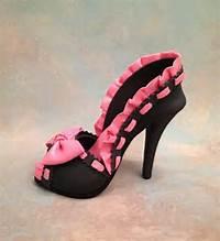 Fondant High Heel Shoe Cake Topper