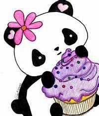 Cute Kawaii Panda Drawings