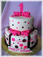 Baby Girl First Birthday Cake Ideas