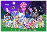 My Little Pony Friendship Magic Characters