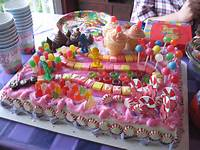 Candyland Birthday Cake Decorations