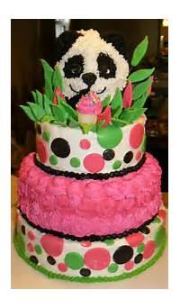 Panda Birthday Cake Design