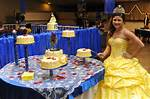 Beauty And The Beast Themed Quinceanera