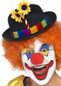 Funny Happy Clown Faces