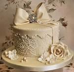 Hat Box Wedding Cake