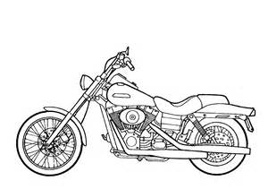 MOUSE AND THE MOTORCYCLE COLORING PAGES