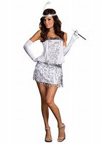Sexy Flapper Girl Halloween Costumes