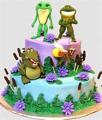 Tiana The Princess And Frog Birthday Cakes