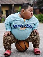 Cute Fat Chinese Kid