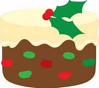 Christmas Fruit Cake Clip Art Free