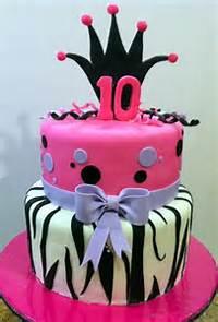 10 Year Old Girl Birthday Cake Ideas