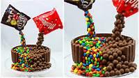 M&ampM Cake Illusion