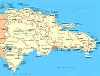Las Terrenas Dominican Republic Map