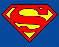 Superman Logo Sign