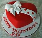 Valentines Heart Shaped Cake