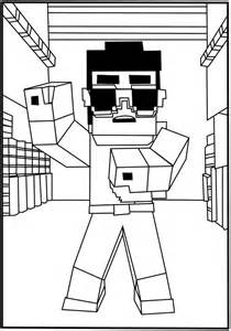free colouring pages minecraft minecraft coloring pages online