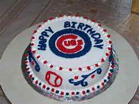 Chicago Cubs Happy Birthday Cakes