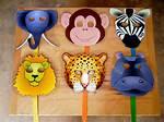 Jungle Animal Preschool Crafts