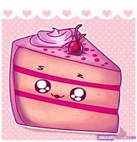 How To Draw Cute Birthday Cake